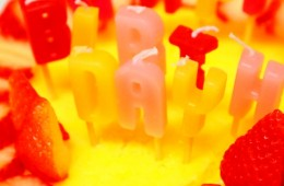 ハーフバースデー ケーキ画像