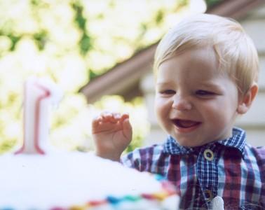 1歳のお祝い