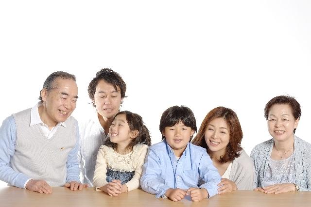 家族写真 撮影